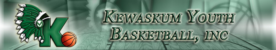 Kewaskum Youth Basketball Header