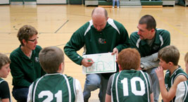 Kewauskum Youth Basketball Coaches